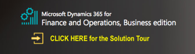 Finance and Operations Business Edition—Small Business Software Microsoft Dynamics 365