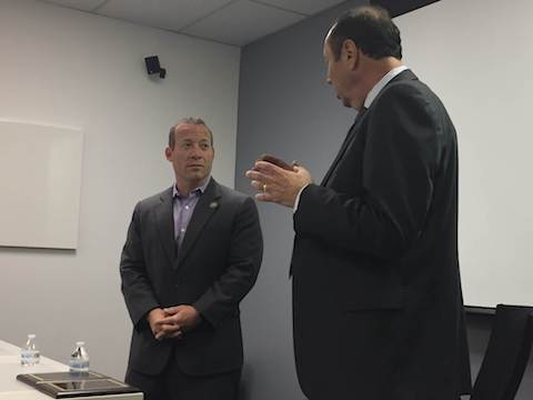 THUMBNAIL_Congressman-Josh-Gottheimer_IAMCP-NJ-Meeting_NJ-Chapter-Partner-of-the-Year-2017_Award-Presentation_07202017_SlickData_Queue-Associates_Microsoft-Gold-Dynamics-Partner_013