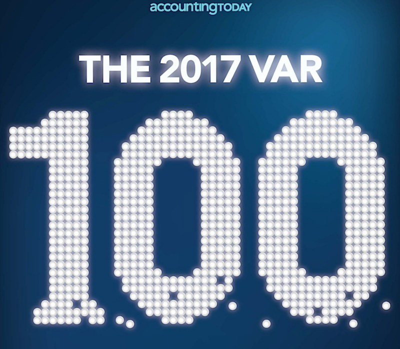 Queue Associates named to The 2017 VAR 100 by Accounting Today